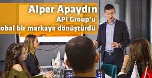 Alper Apaydın API Group'u global bir markaya dönüştürdü